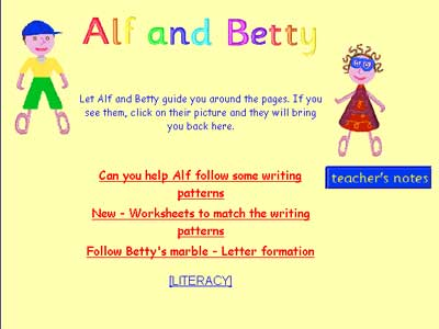 Alf and Betty